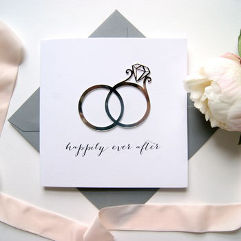 Wedding Card 'Happily Ever After'