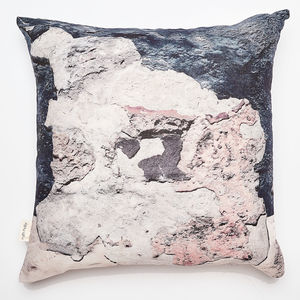 Coastal Inspired Textures Linen Cushion