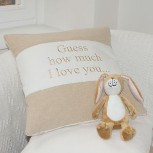 Guess How Much I Love You Cushion - children's cushions
