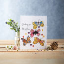 Sending You Lots Of Love, Plantable Wildflower Card