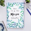Personalised Mr And Mrs To Be Engagement Notebook Gift
