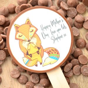 Personalised Mother's Day Chocolate Lollipop