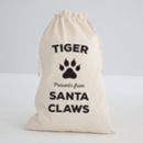 Personalised Claws Sack