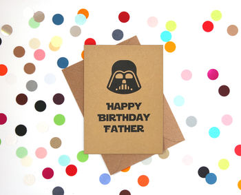 'Darth's Birthday' Funny Birthday Card