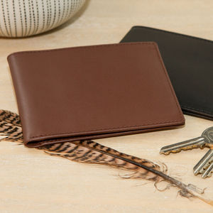 Personalised Leather Wallet - 21st birthday gifts