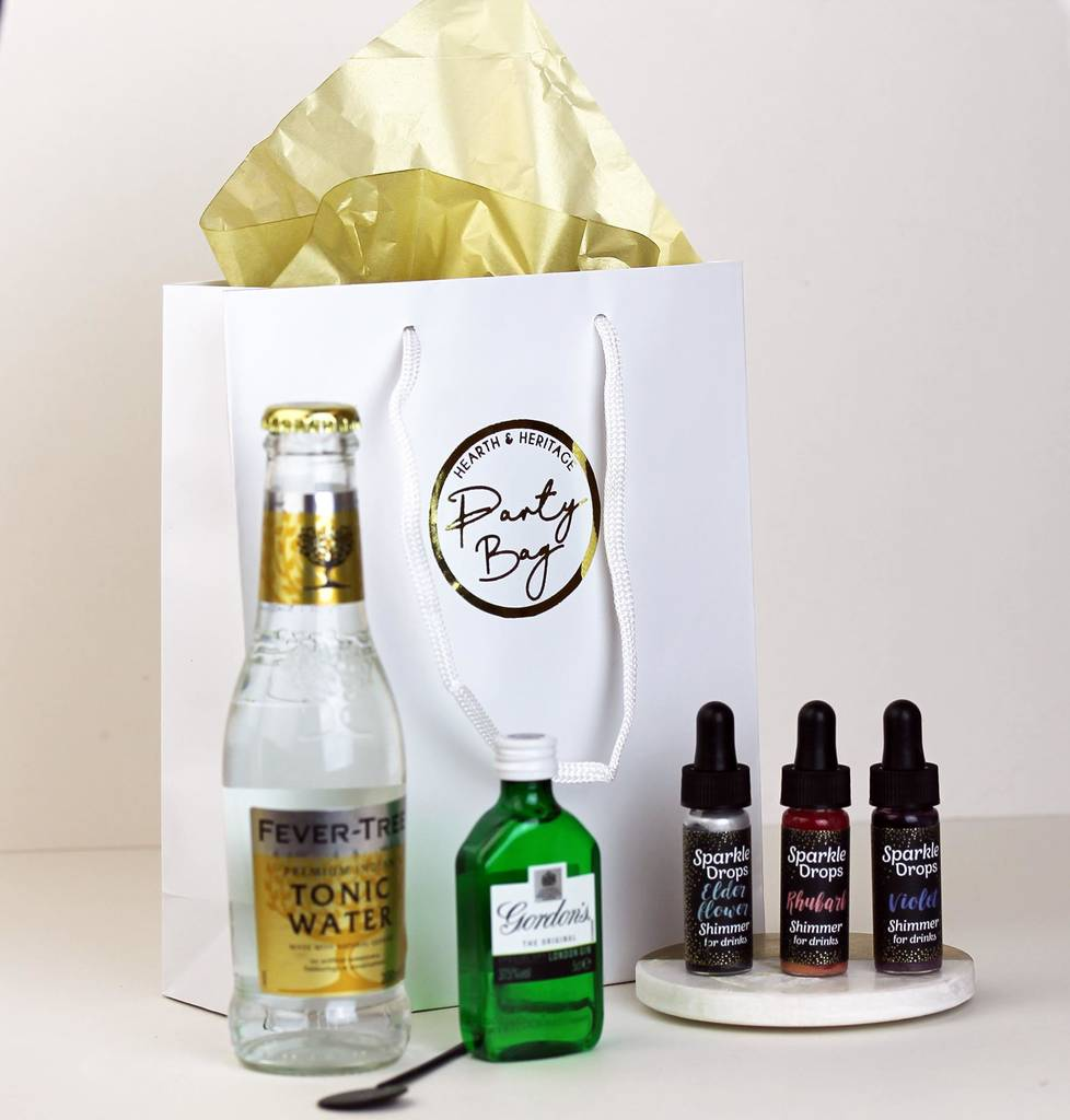Gin And Tonic Party Bag Gift