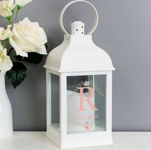 Personalised Monogram Light Up Lantern - candles & home fragrance