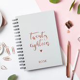 Personalised Script 2018 Weekly Diary - trends