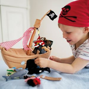 Pretend Play Fabric Toys: Space Pirates Planes Animals