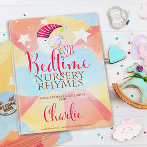 Bedtime Nursery Rhymes And Personalised Poems Book