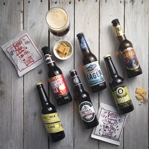 Craft Beer And Savoury Treats Gift Idea - wines, beers & spirits