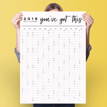2019 'You've Got This' Year Planner