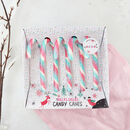 Unicorn Candy Floss Candy Canes