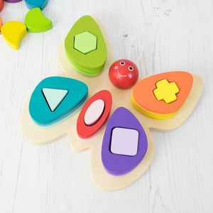 Butterfly Shape Sorter - toys & games