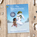 40th Anniversary Personalised 'The Snowman™' Book