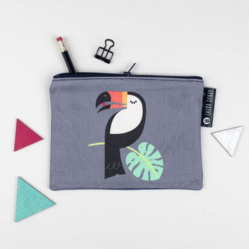 Toucan Bird Purse Or Pencil Case