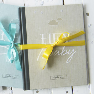 Baby Journal And Record Book - baby shower gifts