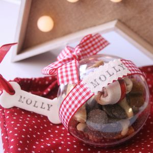 Personalised Pet Bauble - food, feeding & treats