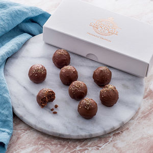 Prosecco Truffles - for a special valentine's night in