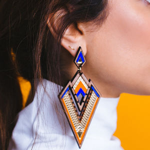 Derin Statement Earrings - earrings