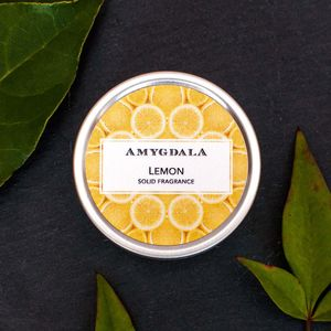 Lemon Solid Perfume - fragrance