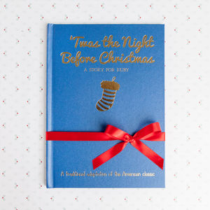 'Twas The Night Before Christmas' Personalised Book - books