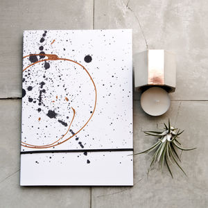Copper Twist Journal And Concrete Gift Set - gifts for friends