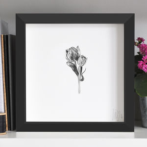 Tulip Flower Print Two