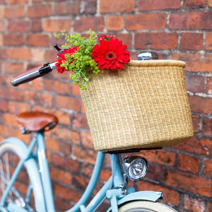 Handcrafted Ghanaian Bike Baskets