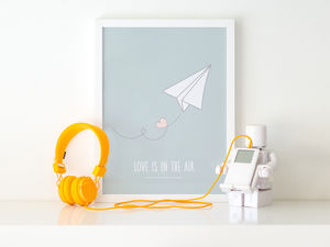 Love Is In The Air - posters & prints
