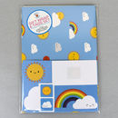 Kawaii Skies Colourful Rainbow Gift Wrap Set With Tags