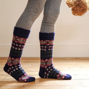 Handmade Wool Socks