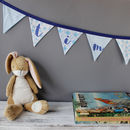 Personalised Bunting Blue