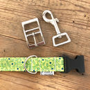 Green Vines Dog Collar