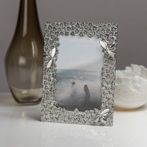 Bee Cast Pewter Photo Frame - picture frames