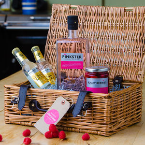 A Gin And Goodies Luxury Hamper - our favourite gin gifts