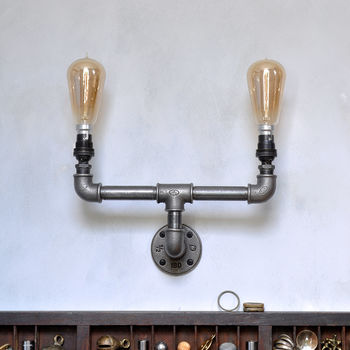 Industrial Double Wall Light