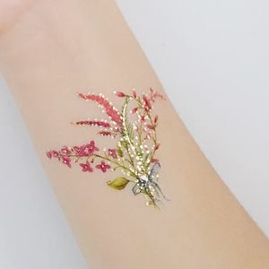 Mini Bouquet Temporary Tattoo - temporary tattoos