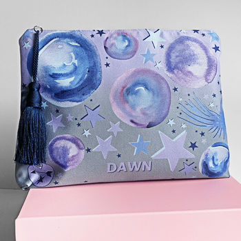 Star Gazer Monogram Pouch Bag