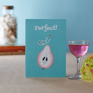 'Perfect' Greetings Card