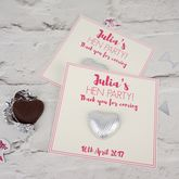 Hen Party Chocolate Heart Gifts - weddings