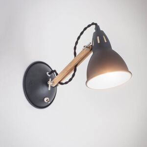 Bermondsey Wall Light In Carbon
