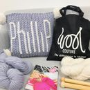 Personalised Cushion Knitting Kit