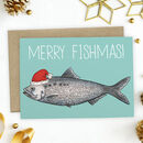 Merry Fishmas Greetings Card