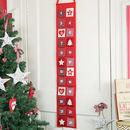 Extra Large Fabric Advent Calendar