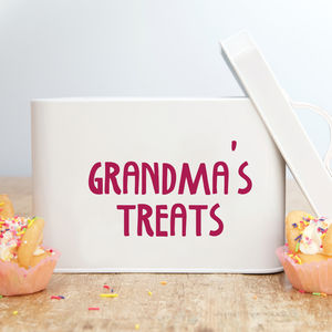 Personalised Treat Tin - kitchen