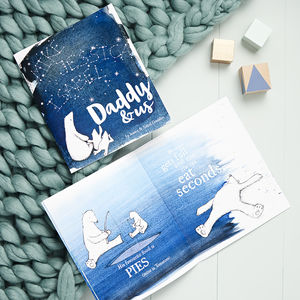 Personalised Daddy And Me Book - books