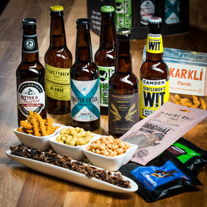 Craft Beer And Treats Taste Box - hampers