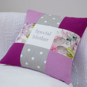 Special Mother Purple Cushion - children's cushions
