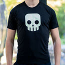 Glow In The Dark Skull T Shirt